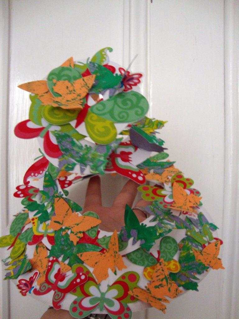 Paper Plate Easter Bonnets