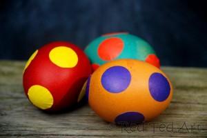 Easy Spotty Eggs