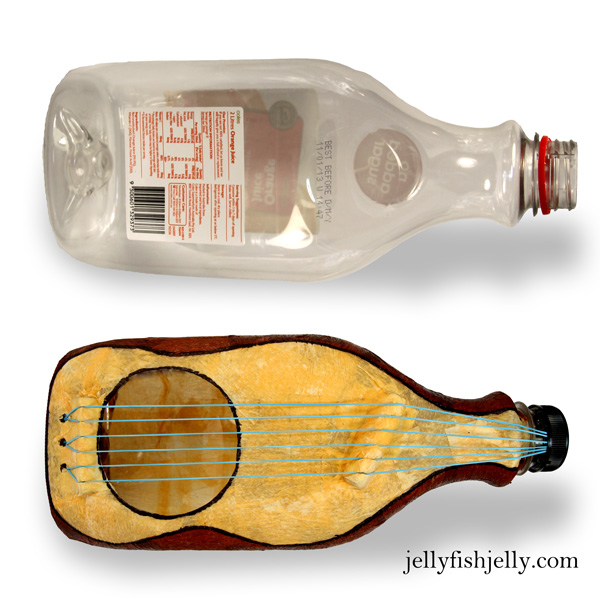 Plastic Bottle Guitar