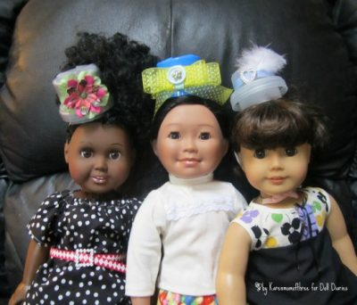 Spring Top Hats for Dolls