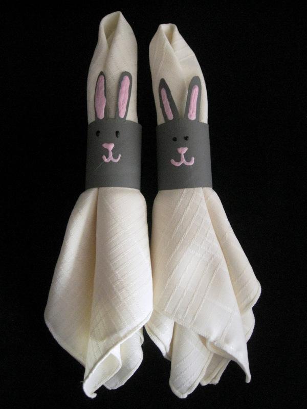 Bunny Napkin Rings