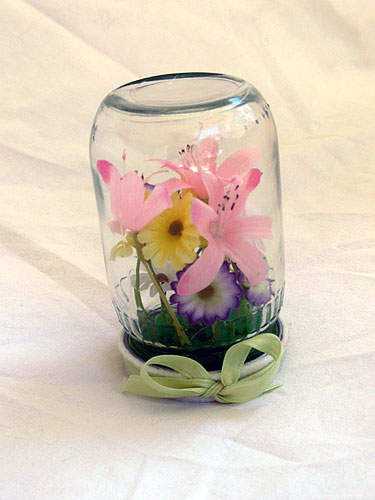 Baby Food Jar Garden
