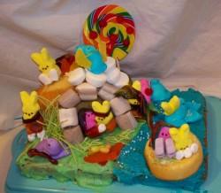Bible Peeps Cake