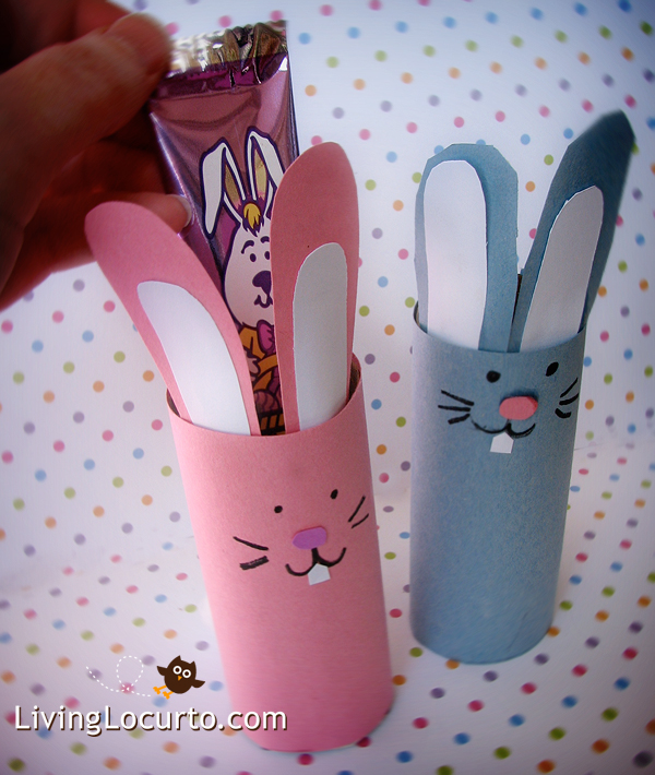 Bunny Candy Holder Fun Family Crafts