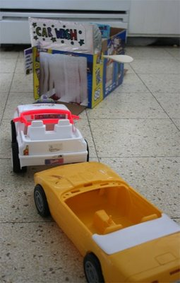Homemade Toy Car Wash