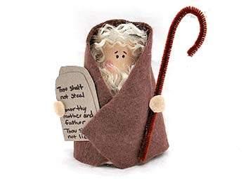 Cardboard Tube Moses
