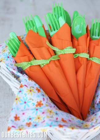 Carrot Napkin Holders