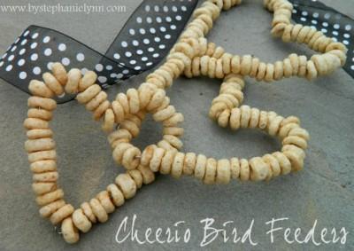 Cereal Bird Feeders