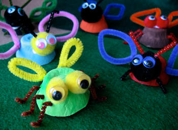 Egg Cup Insects