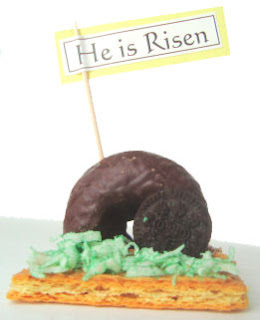 No Bake Empty Tomb Treats