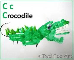 "Handprint ""C"" for Croc"