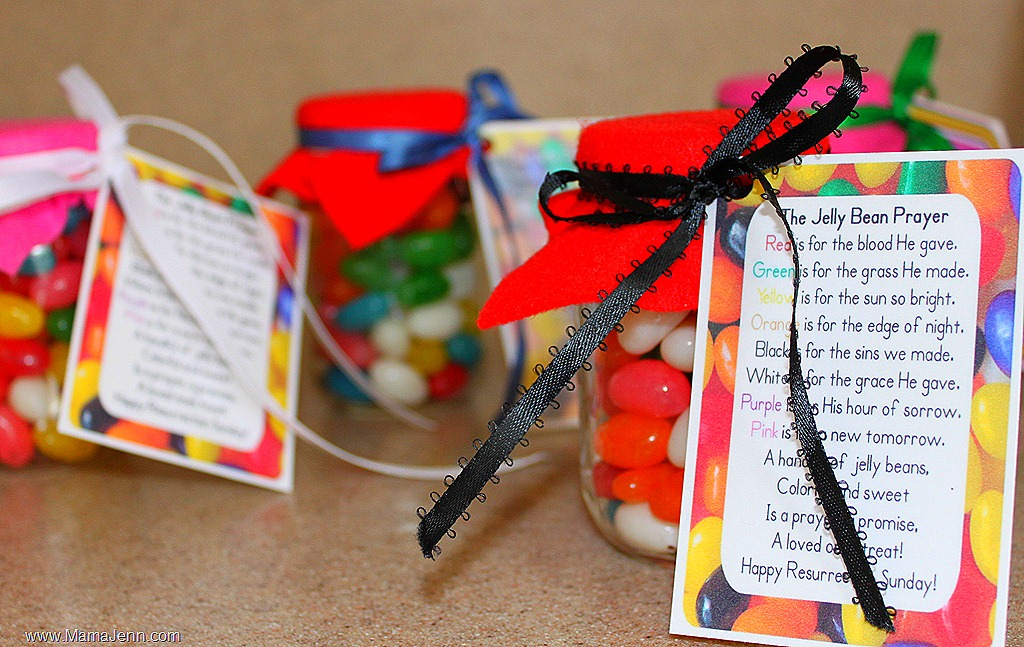 Jelly bean prayer jar fun family crafts for Peace crafts for sunday school