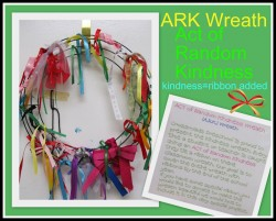 Acts of Random Kindness Wreath
