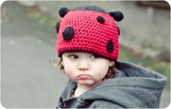Ladybird Hat Pattern