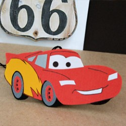 Lightening McQueen Air Freshener