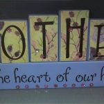 Heart of Our Home Mother's Day Plaque