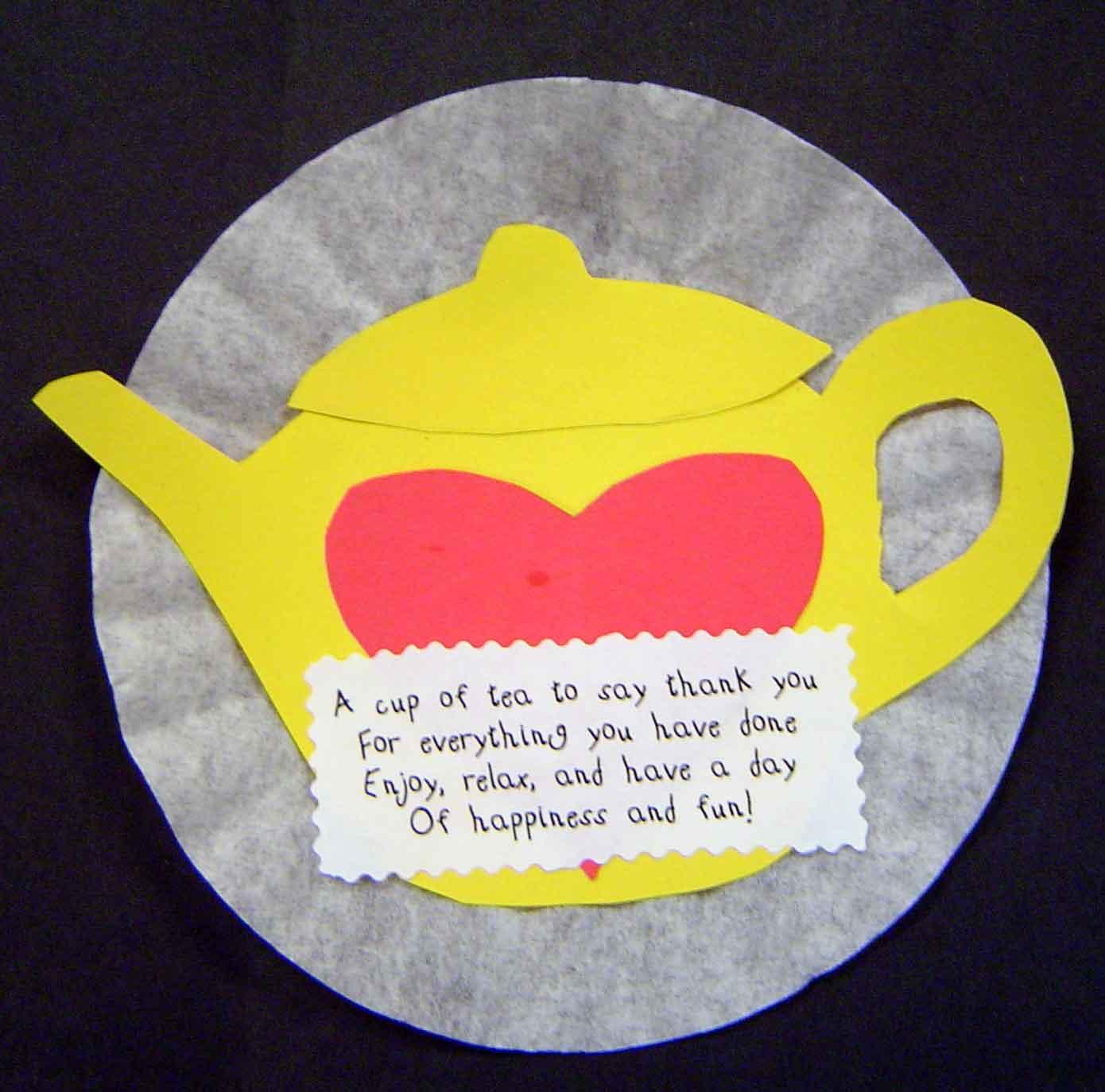 Mother's Day Tea Pot   Fun Family Crafts