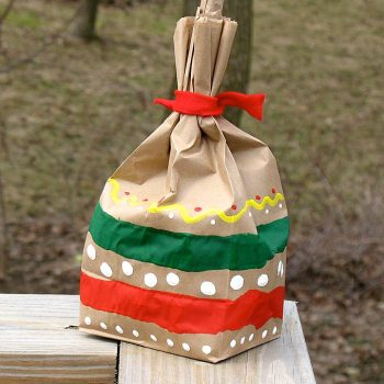 Paper Bag Maracas for Kids