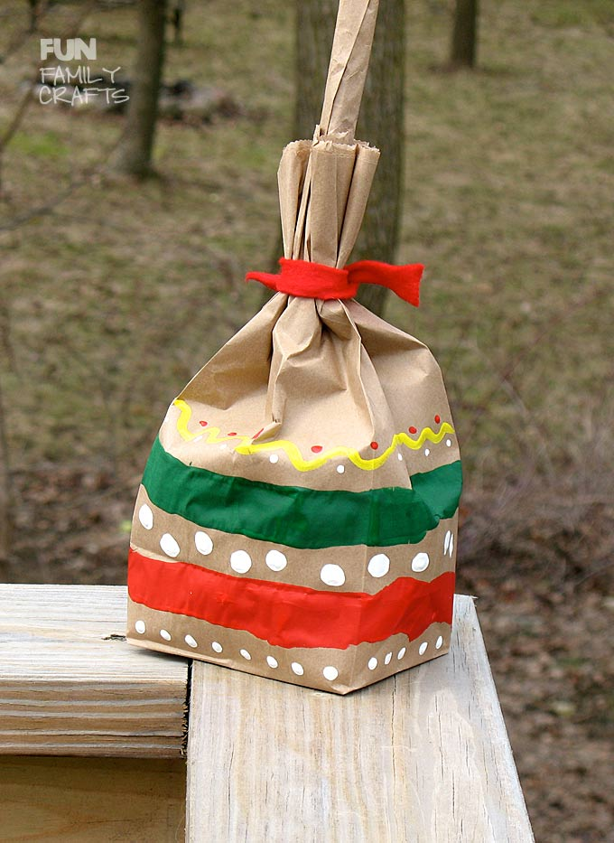 How to make easy paper bag maracas, by Amanda Formaro - featured on Fun Family Crafts