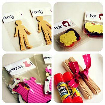 Paper Doll Kit
