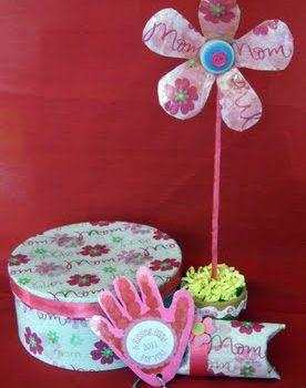 Mother's Day Paper Mache Box