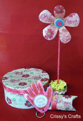 Mother's Day Paper Mache Box