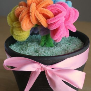Mother's Day Pipe Cleaner Bouquet