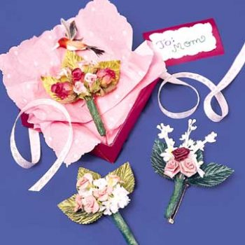 Pretty Posy Pins