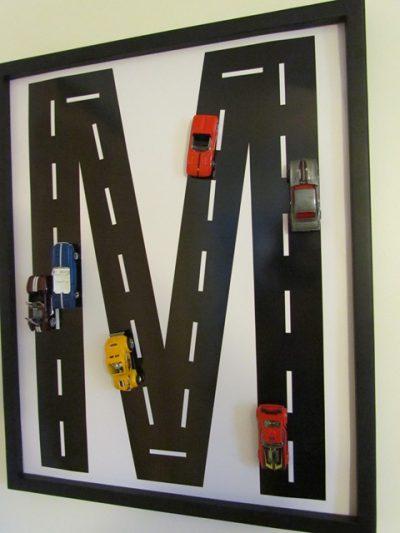 Race Track Monogram