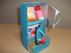 Refrigerator Tissue Box