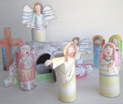 Cardboard Tube Resurrection Set