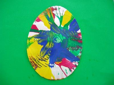 Salad Spinner Easter Egg