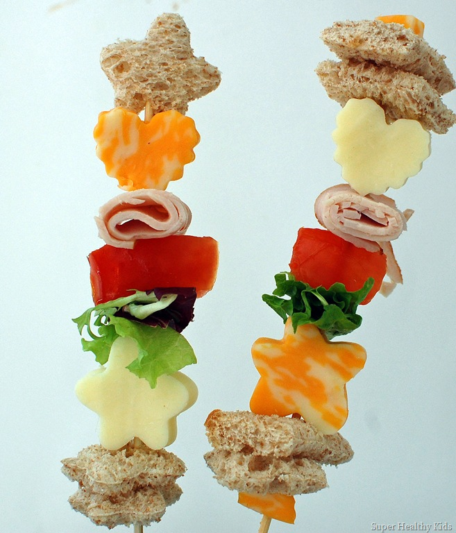 Sticky Stacky Sandwiches