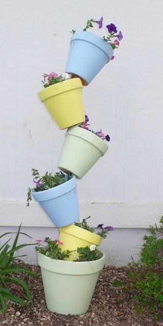 Garden Pot Stack
