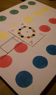 Homemade Twister Game
