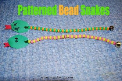 Patterned Bead Snakes