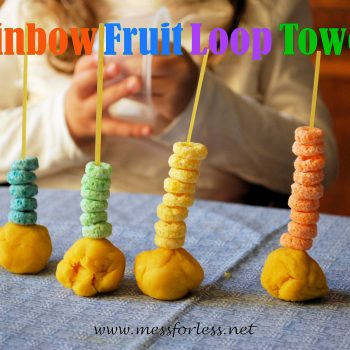 Rainbow Fruit Loop Towers