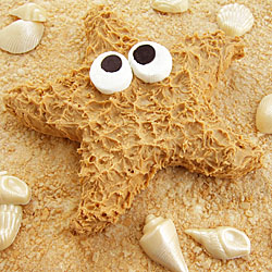 Peanut Butter Fudge Starfish