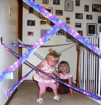 Duct Tape Obstacle Course