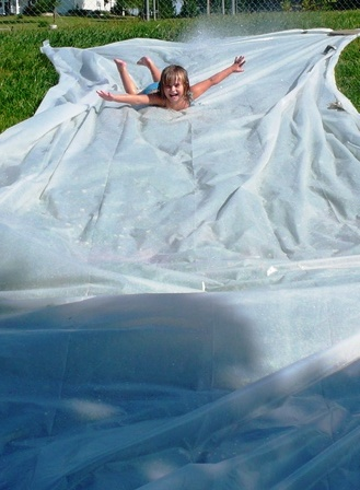 Homemade Slip n Slide