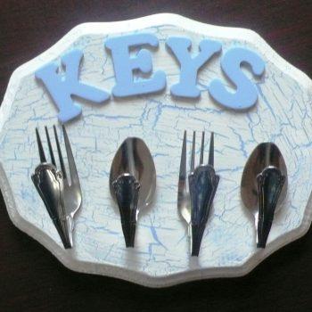 Homemade Key Rack