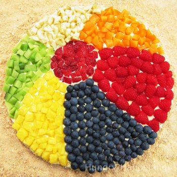 Fruit & Cookie Beach Ball