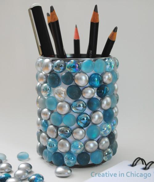 Bling Pencil Pot