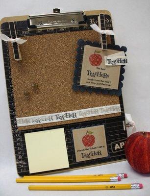 Teacher Clipboard Message Center