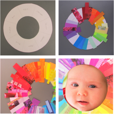 Magazine Color Wheel