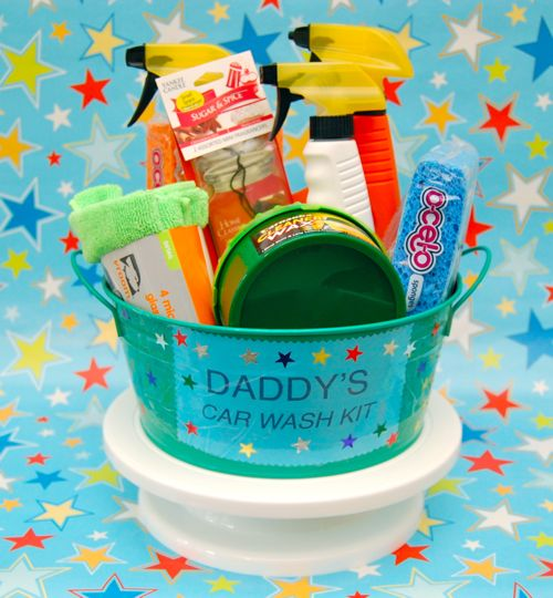 Daddy S Car Wash Kit Fun Family Crafts