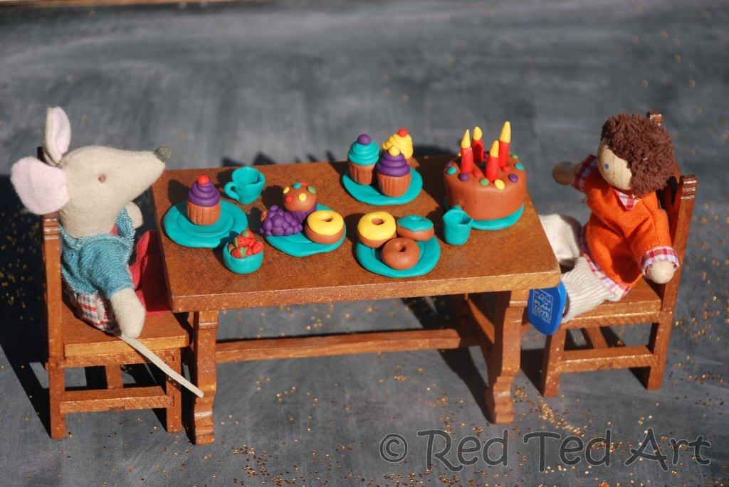 Polymer Clay Tea Party
