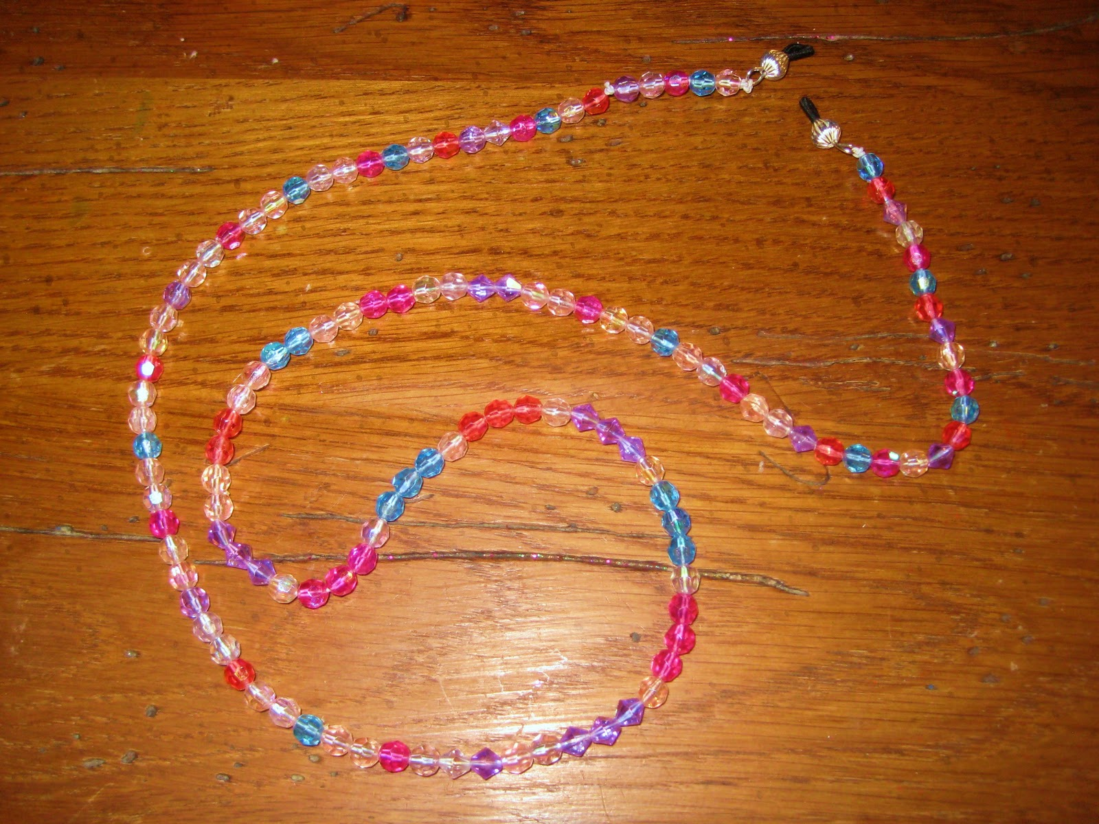 Beaded Eyeglass Holder
