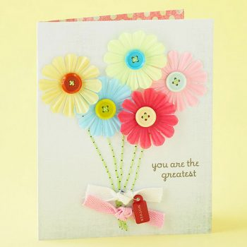 Bright Flower Card