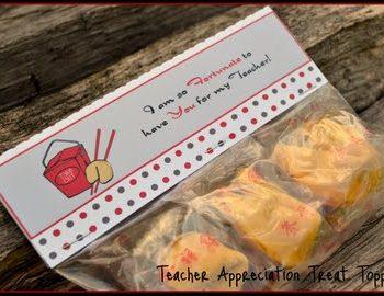 """I'm So Fortunate"" Teacher's Gift"
